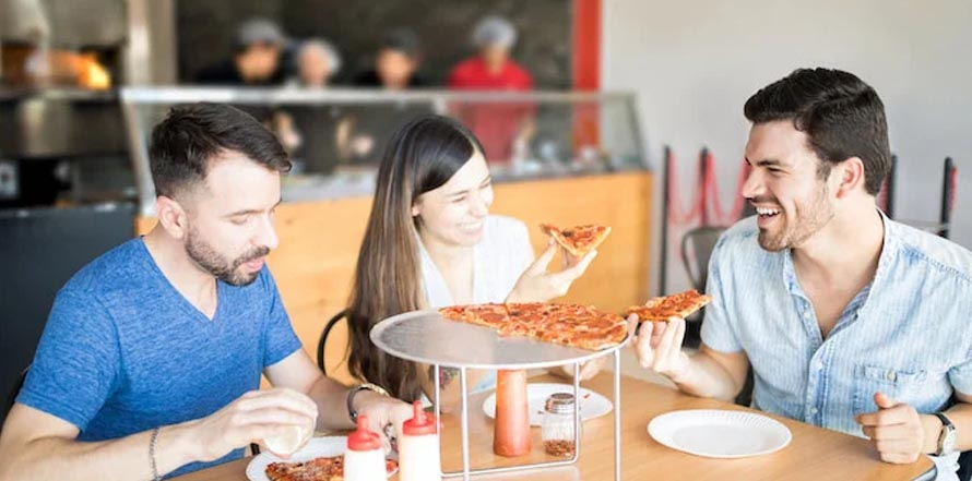 What are the topmost demands of customers when they order pizza