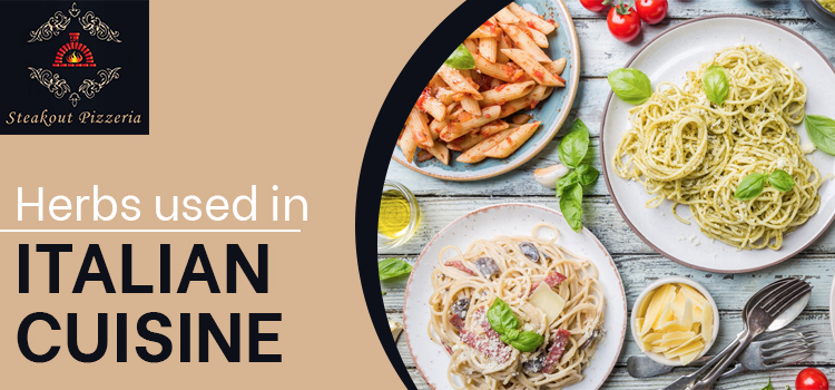 Which kind of herbs and spices are used in Italian Cuisine?